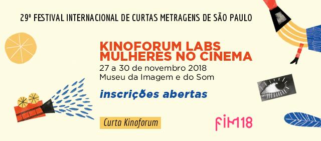 Destaque Kinoforum Labs - Mulheres no Cinema